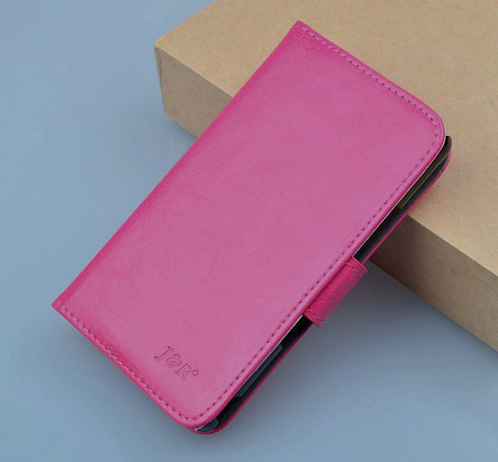 Luxury Leather Case Lenovo P780 Cover Wallet Stand Function Bank Card Holder 9 Colors - USD SHOP store