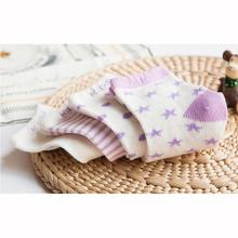 Spring Autumn 0-8 Years Baby Socks Cotton Stripes Infants Socks Newborn Toddler Socks Student Socks 4 pairs/lot(China (Mainland))