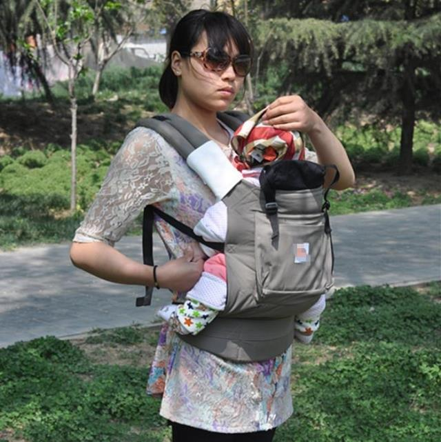 summer baby carrier holding back stool with a baby sling carrying a backpack sling ventilation