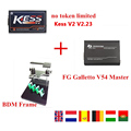 Newest No Tokens KESS V2 V2 23 FW V4 036 Master Version FgTech V54 Galletto Fg