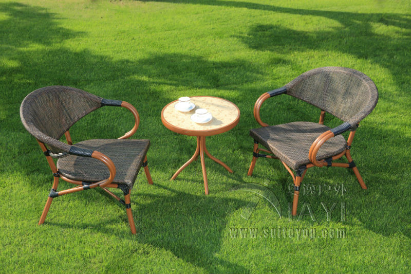 Great Http Www Aliexpress Com Item 3 Pieces Cast Aluminum Patio Furniture Garden  Furniture Outdoor Furniture Mesh Part 4