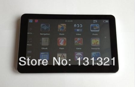 Free shipping 7 inch car Nav with 4GB memory and touch screen high quality car gps navigation with the newest worlwide free map(China (Mainland))