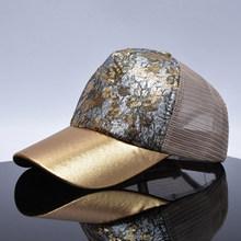 TQMSMY yaz sequins ekleme beyzbol şapkası kadınlar için dantel net ayarlanabilir kemik snapback şapka kamyon şoförü şapkası erkekler hip hop kapaklar TMWL02(China)