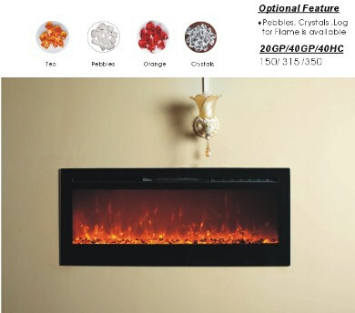G 01 4 Logs Led Fake Flame Wall Mounted Electric Fireplace In Electric Fireplaces From Home