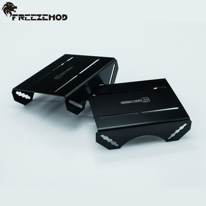 QYFREEZE Stainless steel external holder for computer water cooling system suitable for 120/240/360mm radiator and pump. ZJ-LPWZ(China (Mainland))