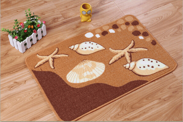 Anti-Skid Shaggy Area Rug Fluffy Rugs Dining Room Carpet Home Bedroom Floor Mat Cute Designs 40x60cm Z0611(China (Mainland))