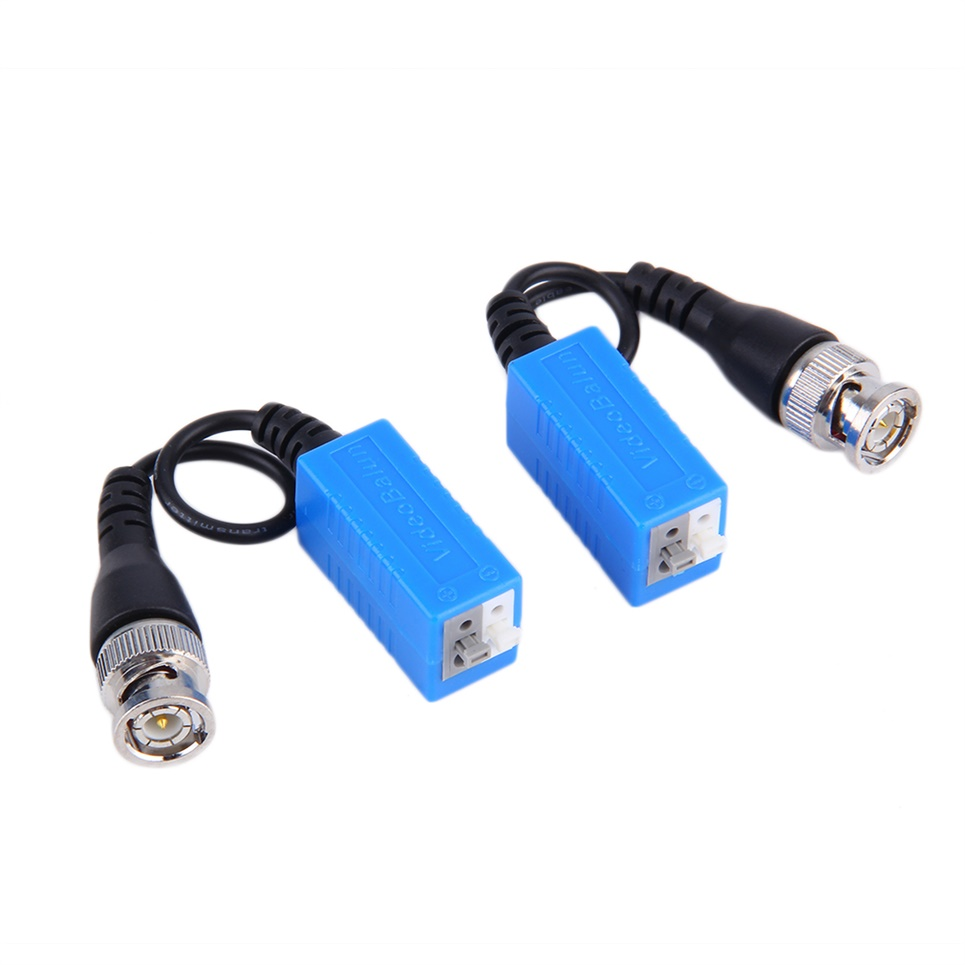 new Press-fit Single Channel Passive Video Balun Twisted Pairs For CCTV Video(China (Mainland))
