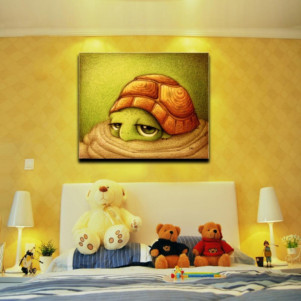 Online kopen wholesale schildpad pictures uit china schildpad pictures groothandel - Moderne kamer volwassen schilderij ...