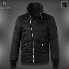 Free Shipping  New Brand Top Quality Down Cotton Mandarin Collar Splicing Man's Coat Winter Jacket,Mens wadded jacket,DXY327