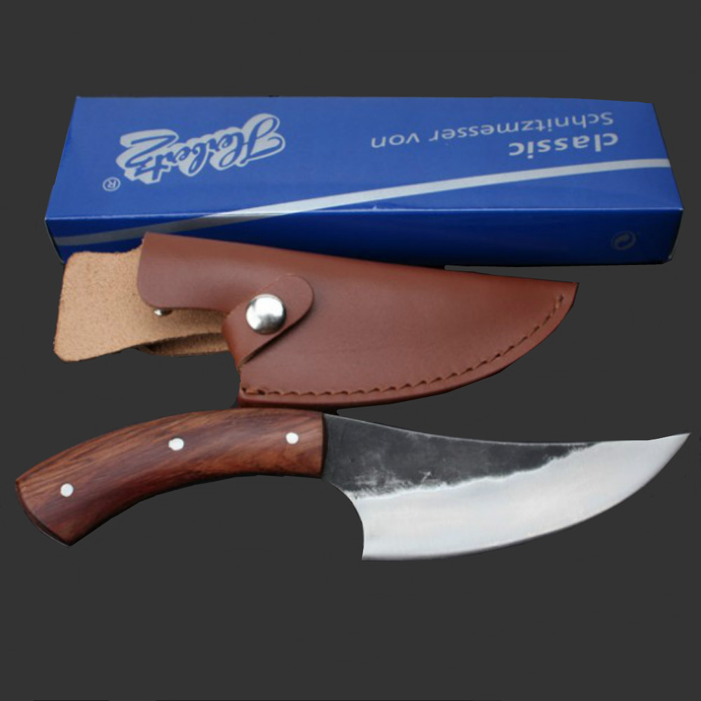 Pure handmade HUNTING KNIFE handmade High carbon steel pattern cutter outdoor knife survival knife sharpknife collection process(China (Mainland))