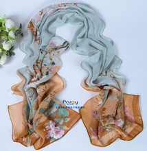 2014 new scarf summer pashmina women's scarf  long shawl printed cape Polyester chiffon tippet muffler echarpes Scarves PG-009(China (Mainland))