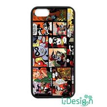 Fit for Samsung Galaxy mini S3/4/5/6/7 edge plus+ Note2/3/4/5 back skins cellphone case cover harley quinn joker batman