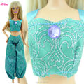 1x Princess Gown Copy Pocahontas Outfit Indian Fairy Story Wedding ceremony Get together Costume For Barbie FR Kurhn Doll Garments Equipment 91