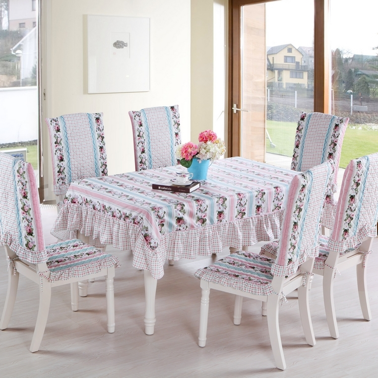 Com Buy Cotton Fabric Dining Table Cloth Chair Pad Chair Covers