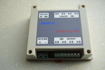 Industrial 8 Port RS485 bidirectional sharing RS-485 HUB 485 Switch distributor Repeater Star topology Cascade