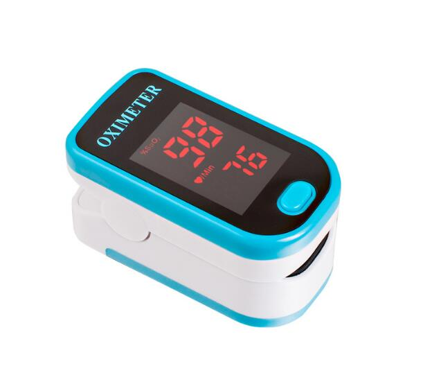 pulse oximeter finger pulse oxygen monitor heart rate monitor(China (Mainland))