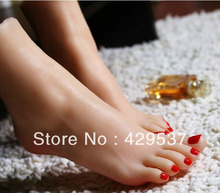 Top Quality Fetish Products Online,Fake Feet for Displaying,Foot Fetish Toys,Lifelike Female Feet,Sex Doll Real Skin,FT-002