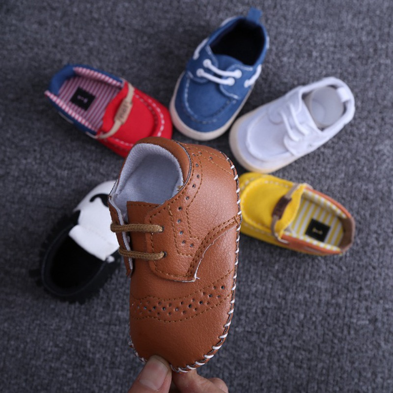 2016 New Casual Baby Shoes Baby Boys First Walker Baby