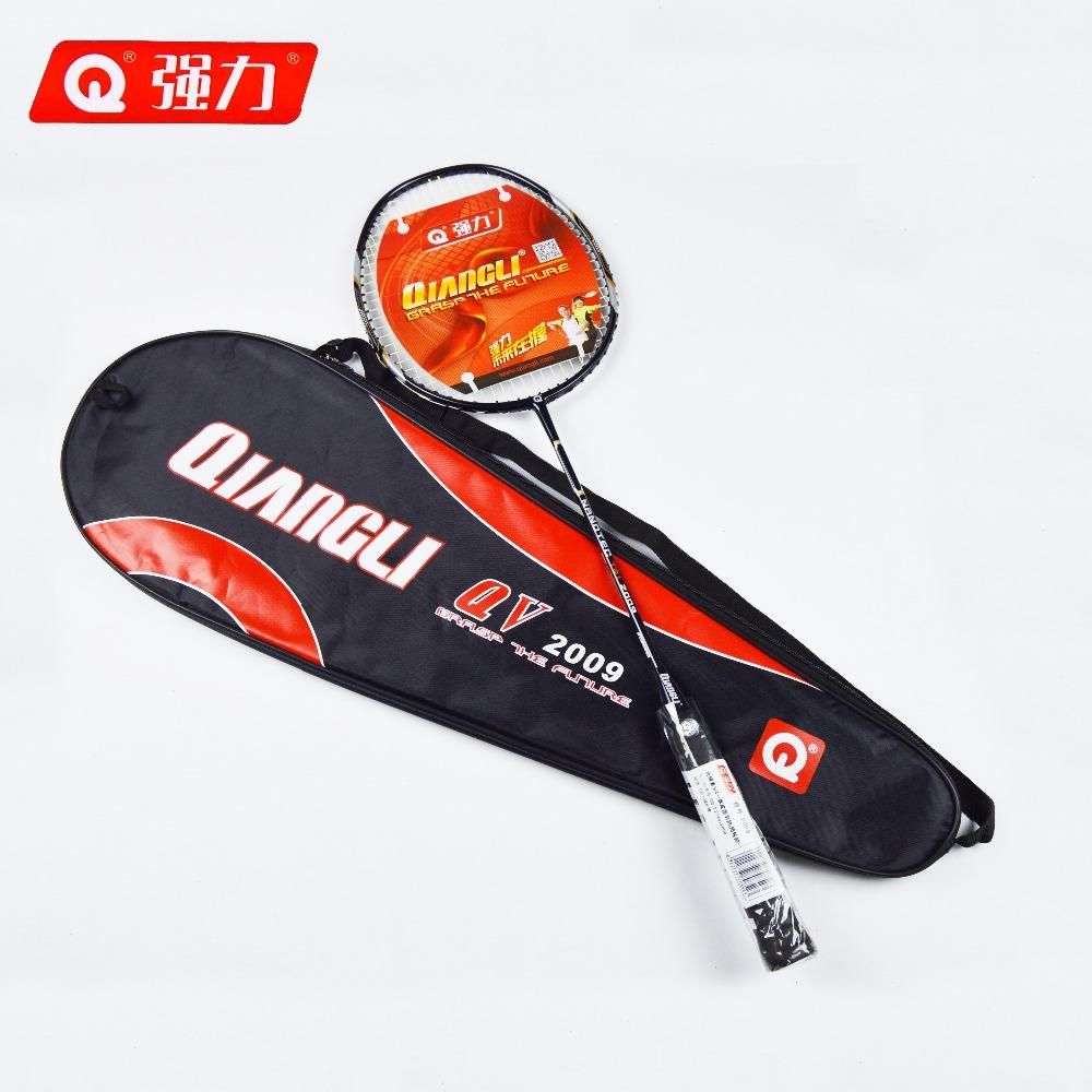 Authentic Qiangli2009 Ultralight 5U nanotechnology badminton racket badminton raquette badminton badminton rackets(China (Mainland))