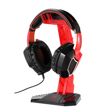 Buy US Stock SADES Gaming Headphone Stand Earphone Holder Professional Display Rack Headset Hanger Bracket Earphone Accessories for $17.13 in AliExpress store