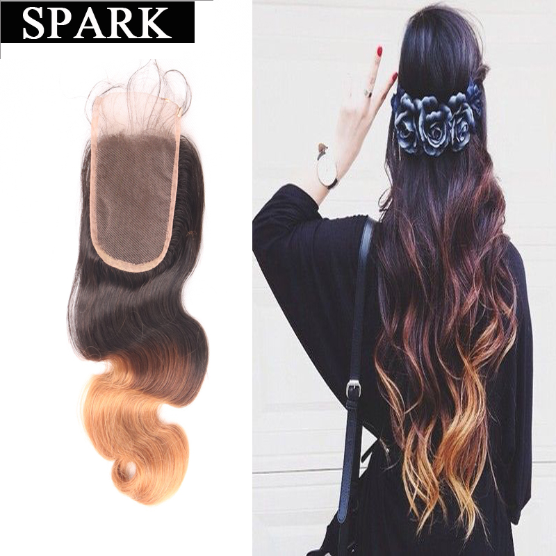 6A  Wet and Wavy Brazilian Hair Body Wave Lace Closure 12-20 Free/ Middle /Three Part Ombre Lace Closure Remy Human Hair <br><br>Aliexpress