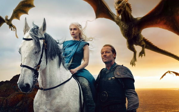 056 Game Of Thrones - Daenerys GOT Winter Coming Season 3 4 TV 22