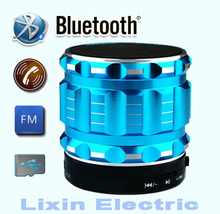 2016 New Portable Mini Bluetooth Speakers Metal Steel Wireless Smart Hands Free Speaker With FM Radio Support SD Card For iPhone