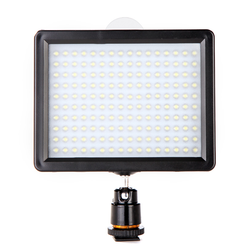 ES Stock Andoer 160 LED Video Light Lamp 1280LM 5600K/3200K Dimmable Photographic Lighting for Canon Nikon Pentax DSLR Camera(China (Mainland))