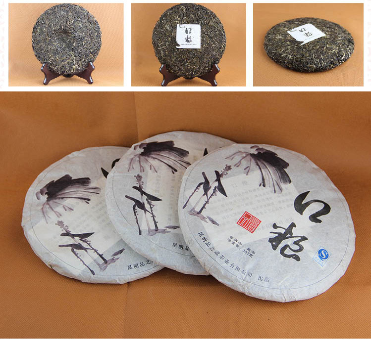 357g Limited High Quality Shen Puer big leaves yunnan Raw Pu er Chinese Raw Puer Tea healthy product<br><br>Aliexpress