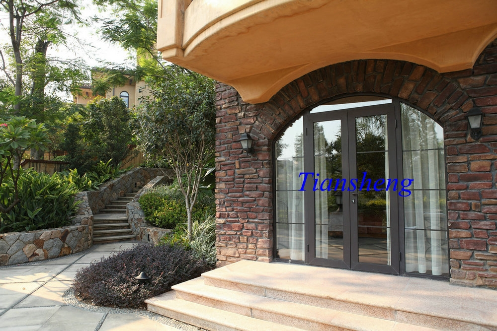 Fashionable new style aluminum used exterior french doors for External french doors for sale