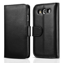 S3 Wallet Flip PU Leather Case For Samsung Galaxy S3 i9300 SIII Luxury Phone Bag Fundas Card Holder Plastic Back Cover Coque(China (Mainland))