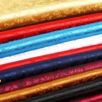 120cm*100cm Antique jacquard silk satin cloth dragon super soft clothes and costume COS clothing brocade fabrics dress fabric