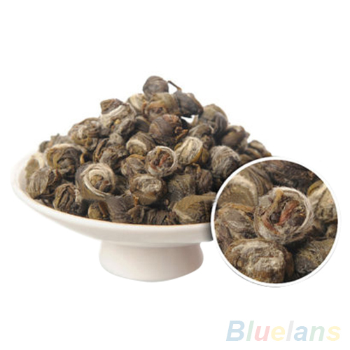 100g Chinese Organic Premium Jasmine Dragon Pearl Ball Natural Green Tea 2MPF 321P