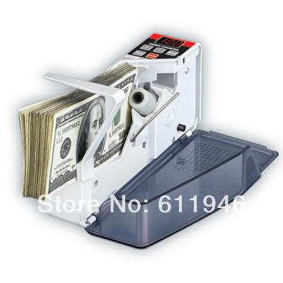 Free shipping by DHL ! 2014 new V40 Mini Portable Handy Bill Cash Money registers Currency Counter Counting Machine(China (Mainland))