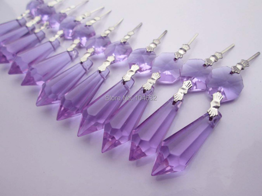 Chakra Spectra 25 Purple Chandelier Glass Crystals Octagon beads Healing Lamp Prisms Parts Hanging Drops Pendants 3.2 M01911-1<br><br>Aliexpress