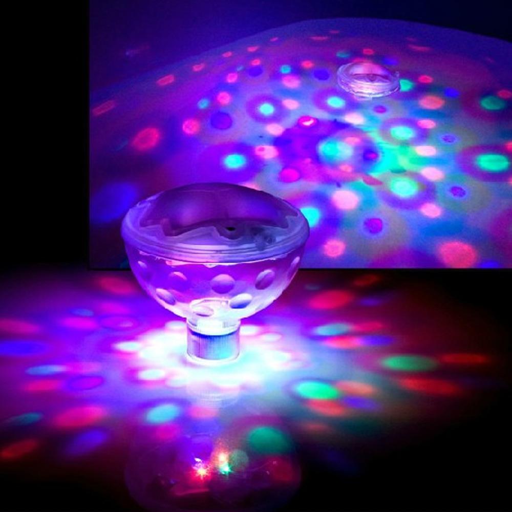 [해외]?신제품 수중 LED 디스코 수생 발광 빛의 쇼 연못 수영장 스..