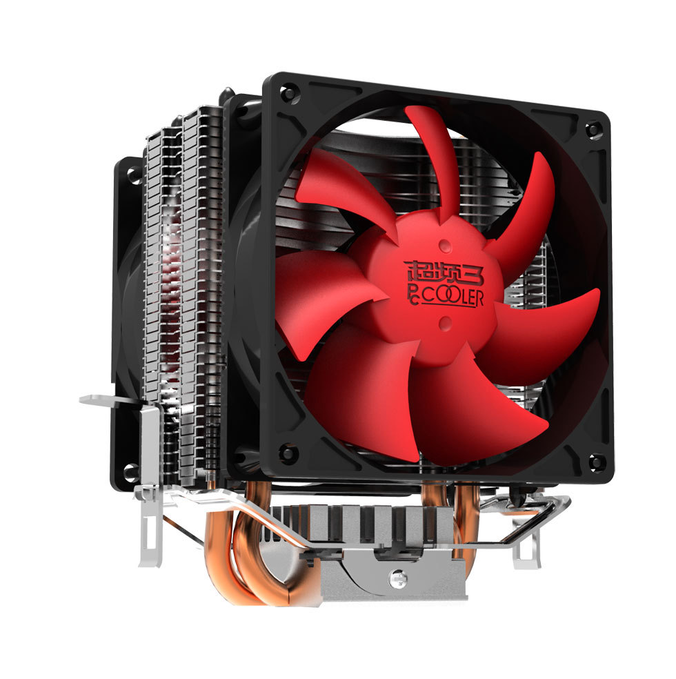 PC Cooler (Red Ocean Mini Plus)Computer CPU Cooler Heatpipe 80mm PWM Cooling Fan For Socket 754/939/AM2/AM2+/AM3/FM1/LGA775(China (Mainland))