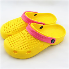 Beach Sandals shoes woman Summer Style Clogs Models sandalias mujer Shoes Garden Flat Slippers Shoes US6-8 Sizes Wholesale