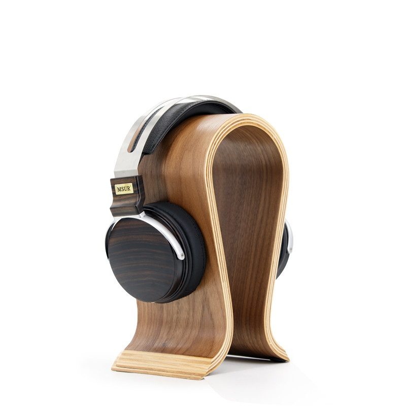 MSUR N650 HiFi Wooden Metal HiFi Music DJ Headphone Headset Earphone With Beryllium Alloy Driver Portein Leather 100% Authentic(China (Mainland))