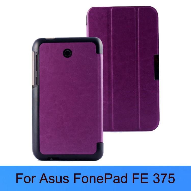 Роскошные ума рисунок лошади дизайн обложки стенд кожаный чехол для Asus FonePad santa FE 375 планшет чехол + 1 протектор экрана + 1 стилус