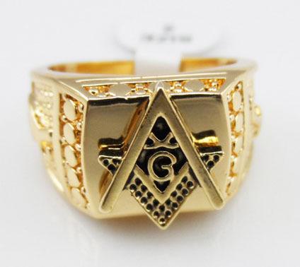 Freemason Ring Finger Rap Freemason Rings Gold