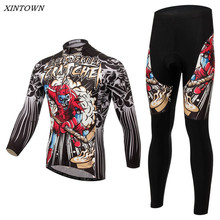 Buy XINTOWN Men Cycling Jersey Bike Team Bicycle Cycling Clothing Long Sleeve Jersey CC0371 for $36.95 in AliExpress store