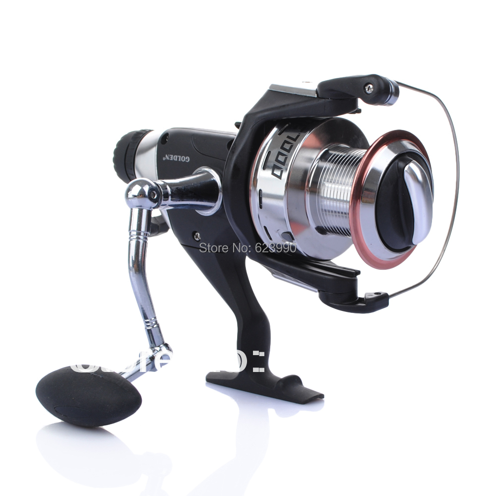 1pcs Free Shipping GOLDEN DC7000 Superior Baitrunner Carp Spinning Fishing Reels  Wholesale and Retail <br><br>Aliexpress