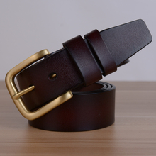 2016 New Real Leather Automatic Belts for Ben Men's Automatic Buckle Belts Men's Business Belt Free Shipping