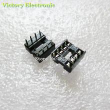60PCS/Lot New 8Pin Socket DIP IC Sockets Adaptor Solder Type Socket Kit Wholesale Electronic