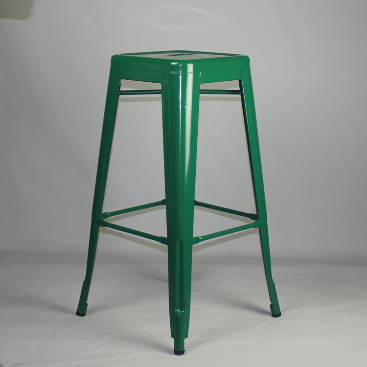 Free Shipping 75cm Powder Coated Stool with Green Colour Finish(China (Mainland))