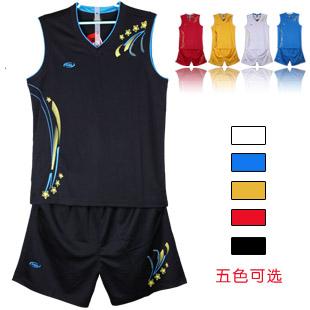 Basketball clothes basketball clothing set training vest jersey pocket sides - Shenzhen Variety trend of digital technology store