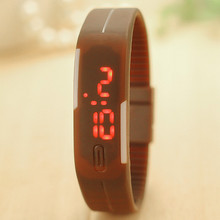 13  Colors Fashion Sport LED Watch Candy Color Silicone  Watch Touch Screen Digital Watches relogio feminino BW-SB-1584