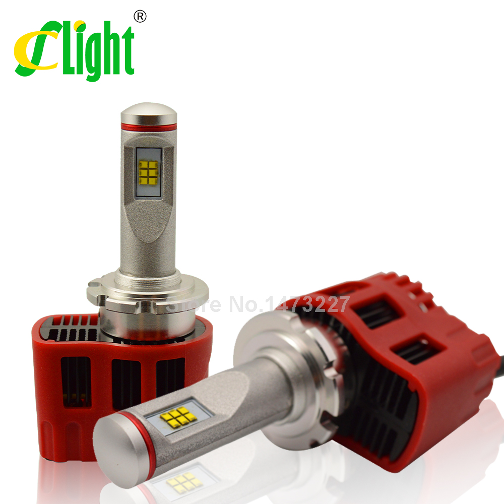 Фотография D4 D4S LED Canbus 9000Lm Car Bulb Auto Lamp Headlight Fog Light Conversion Kit Replace Halogen and Xenon HID Light