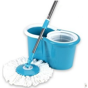 Hot sale!+Free shipping!Explosion-proof hand pressure rotating double mop hand